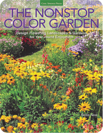 Get GardenMama's best ideas for garden color from the top down, year round.